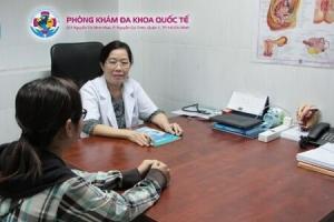 bác sĩ Mai đặt vòng tránh thai nhiều kinh nghiệm