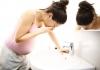 dấu hiệu mang thai con trai