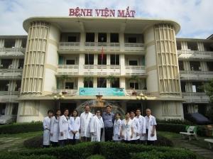 Quy trình thăm khám bệnh tại bệnh viện mắt TPHCM