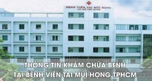 bệnh viện tai mũi họng tphcm